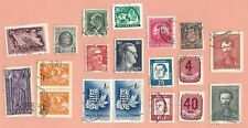 Europe Stamp Lot of 19 - Used