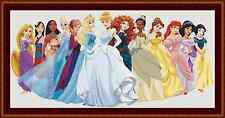 Disney Princesses Large Beautiful Cross Stitch Kit