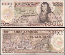 Mexico 1,000 (1000) Pesos, 1985, P-85, UNC, Series-XW