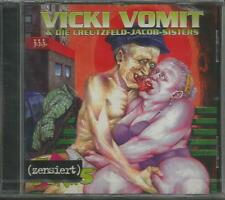 Morbidose punk 5 Vicki Vomit e la Creutzfeld-Jacob Sisters CD NUOVO!!!
