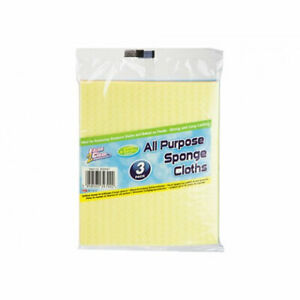 Easee Multi Purpose Cleaning Kitchen Cloth Long Lasting Sponge pack of 3