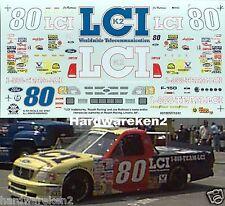 NASCAR DECAL #80 LCI 1997 FORD F-150 CRAFTSMAN TRUCK JOE RUTTMAN SLIXX