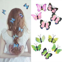 5pcs Butterfly Hair Clips Bridal Hair Accessories Wedding Photography Costume Fy
