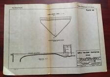 1919 Sketch Diagram Simple 2 Stage Proposition Intake Niagara River Grass Island
