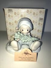 Precious Moments Don't Let The Holidays Get You Down Porcelain Figurine 522112