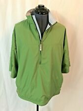 Sunice Weather Green 1/2 Zip Short Sleeve Pullover Packable Shirt Size M Nwot