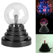 Magic USB Battery Sphere Lighting Lamp Light Party Crystal Glass Plasma Ball
