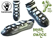 IRISH DANCE SHOES DANCING LEATHER COMFORT reel pumps SOFT pure LEATHER Handmade