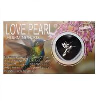 "Love Wish Pearl Necklace Kit Set Culture Pearl 16"" Necklace - Humming Bird"