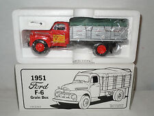 Great Lakes Hybrids 1951 Ford F-6 Grain Box Truck By First Gear  1/34th Scale
