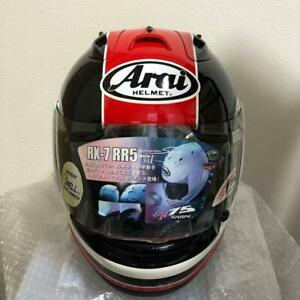 ARAI helmet RX-7RR5 Red XL size 2015 manufactured motorcycle accessories shield