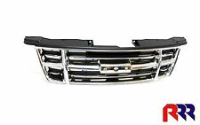 "GRILLE CHROME BLACK HOLDEN RODEO RA 10/06-6/08 (Takes ""ISUZU BADGE"")"