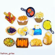 Novelty Fridge Magnet Sticker Fruit Food Bread Frying Pan Cute Refrigerator Toy