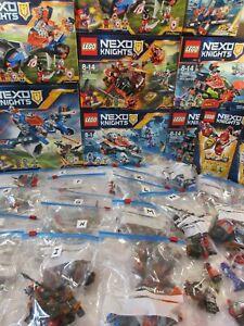 LEGO NEXO KNIGHTS: MINIFIGURES * BUNDLES * MONSTERS * HEROES     [Please Choose]