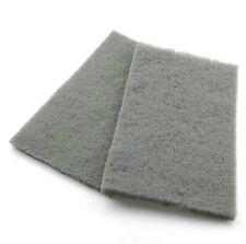 Abrasive Polishing Fine Pad Scotch Brite Scotchbrite Stainless Steel Grey 20x12