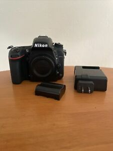 Nikon D750 24.3 MP Digital SLR Camera - Black (Body, Charger, and Battery)