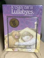 A Child's Gift of Lullabyes CD Compact Disc And Book Rare Unopened Sealed 1987