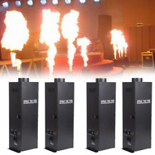 4Pcs 200W DMX Flame Thrower Effect Fire Spray Stage Machine Party Projector