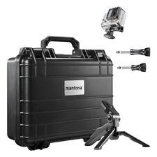 mantona Koffer M Aufbewahrungsset II für GoPro mit wichtigen Zubehörteilen