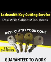 Dee Zee Delta Others Toolbox Key H700D-H710D Tool Box Keys Deflecta Shield