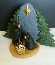 Big Sky Carvers Bearfoots  Holiday Christmas Beartivity Bear Nativity Scene