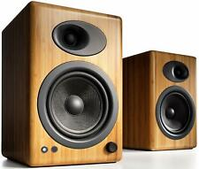 Audioengine A5+ Powered Speakers NATURAL BAMBOO