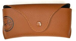 VTG Ray Ban Glasses Case Brown Hard Case Excellent Condition