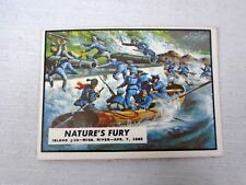 Natures Fury Civil War News trading Card #15 Rebel Stronghold Falls to Union