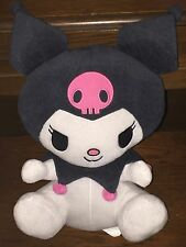 "2011 16"" Kuromi -Sanrio My Melody Plush Pink Skull Jester Hat Hello Kitty"