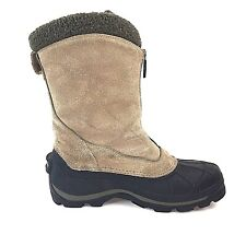 Columbia Womens Johnnie Zip Winter Boots US sz 10 Thermolite Insulated