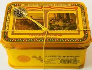 Spanish Saffron Tin Gathering of Saffron Select Grade 1/2 oz