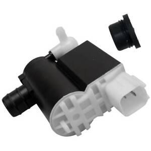 AUTOPA Windshield Washer Pump w/ Ring for Hyundai Santa Kia Rondo 201525232316G
