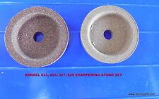 Berkel 01-40082500112 Sharpening Stone Set For 823,825,827 Series Slicers