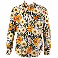 Long Sleeve Synthetic Regular Casual Shirts & Tops for Men
