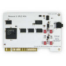 TexElec Resound 2 OPL3 MCA Adlib Compatible Card for IBM PS/2 MCA Bus Computers
