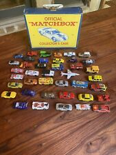 Matchbox Carry Case And Car Collection Including Other Brands