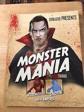 Monster Mania Starring Werewolves Ghosts & Vampires Paperback Book New
