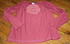 TEA COLLECTION LITTLE GIRLS SIZE 6 GORGOEUS FLORAL PEASANT STYLE TOP