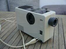 Diaprojektor Braun D 7 Objektiv Will-Optic Wetzlar Maginon 1:4,5/85 mm