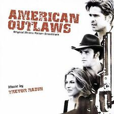 American Outlaws [Original Motion Picture Soundtrack] by Trevor Rabin (CD) NEW!