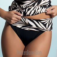 Fantasie Swimwear Madrid Fold Bikini Briefs/Bottoms Black 5331 NEW Select Size