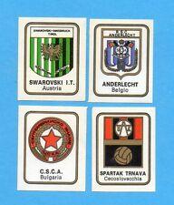 FIGURINA PANINI 1972/73-n.557- SWAROVSKI+ANDERLECHT+CSCA+SPARTAK TRNAVA -Rec
