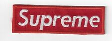 SUPREME  IRON ON PATCH BUY  2 GET 3 + FREE POSTAGE for free patch