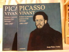 Picasso vivant, enfance et 1ère jeunesse d'un démiurge - J. Palau i Fabre, 1998