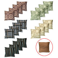 Pack of 4 - Budget Quality Cotton Rich Cushion Covers 45 x 45 cm