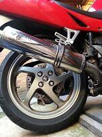 Honda VFR800fi Tidy up kit Rear wheel & swing arm Chrome caps & nut covers 1998
