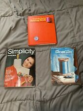 Vintage Sewing Books 1967 Coats & Clark's Newest Methods from A to Z Simplicity