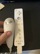 Official Genuine Nintendo Wii Controller Remote - White + Nunchuck Box 2 - 9