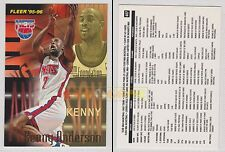 NBA FLEER 1995-1996 SERIES 2 - Kenny Anderson, Nets # 407 - Near Mint