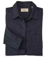 Weatherproof Mens Vintage Brushed Flannel Solid Shirt W198306  /XL/ DARK NAVY